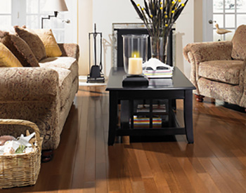 Rich new hardwood flooring available at Hiltons Flooring in Arlington